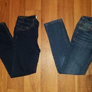 2 for 1 est.1989+psny Jean's size 12(junior girl)